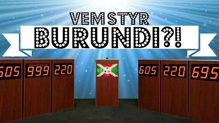Vem styr Burundi? Foto: Flickr/CaptMikey9/Nicolas Raymond/CC BY-SA 2.0 /Redigerad