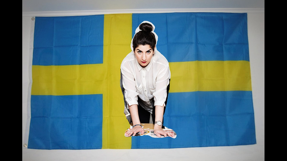 Foto: mararie / swedish flag / CC BY SA 2.0 / Julia Lindemalm / Sveriges Radio