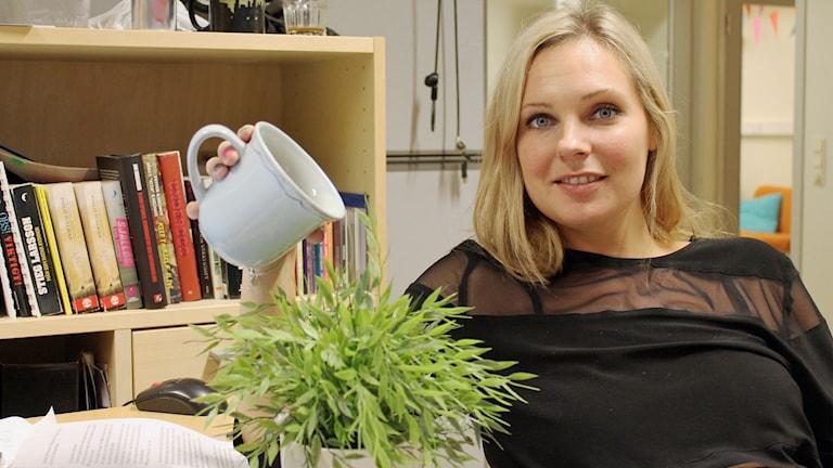 Johanna Wagrell. Foto: Jesper Cederstrand / Sveirges Radio