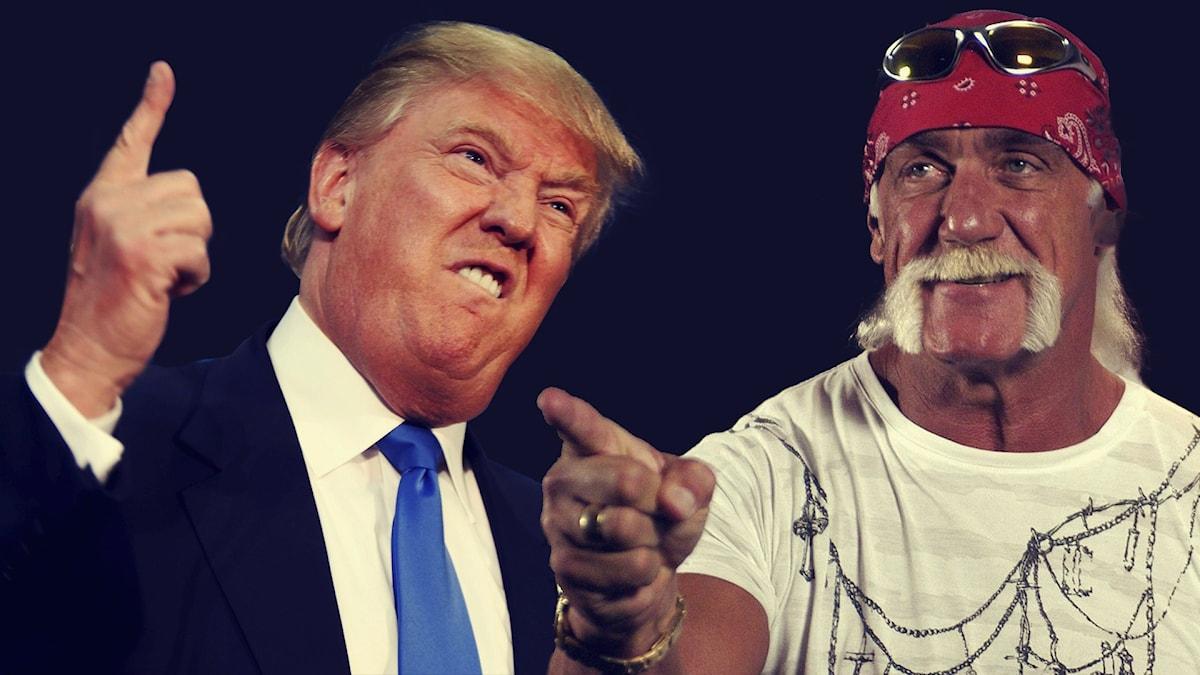 Doanld Trump och Hulk Hogan