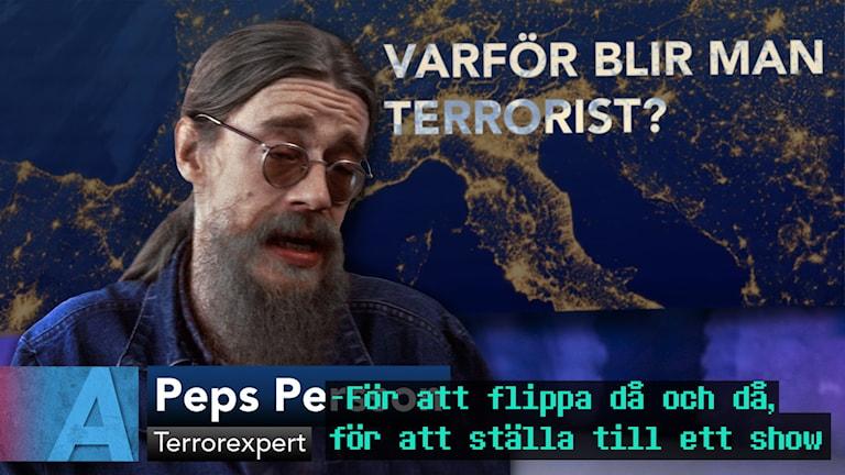Peps Persson - terrorexpert