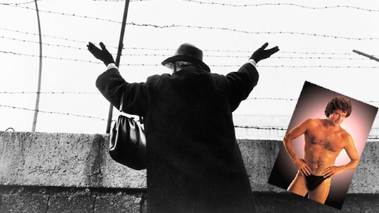 Berlinmuren och David Hasselhoff