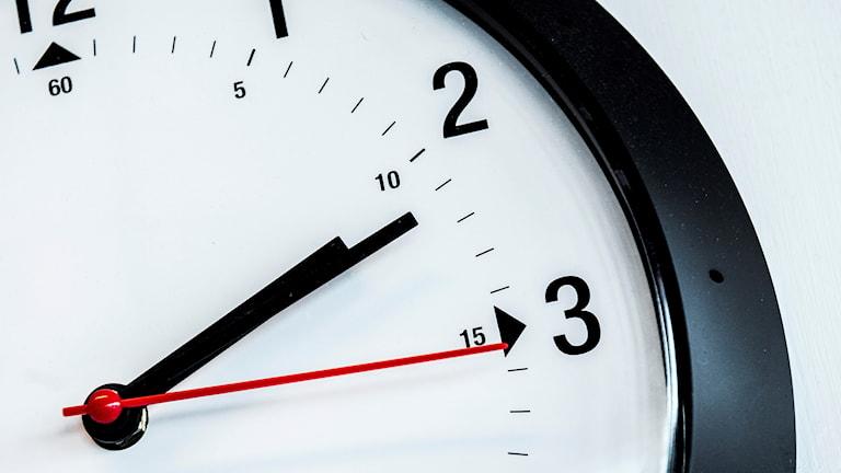 Bild på en klocka.