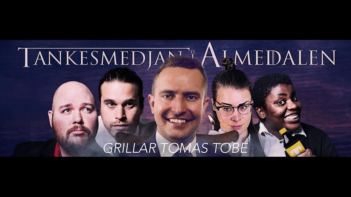 Moderaternas Tomas Tobé och Tankesmedjan