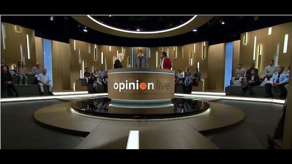Bild från Opinion Live