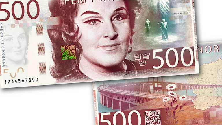 The banknote in question. Photo: Riksbanken