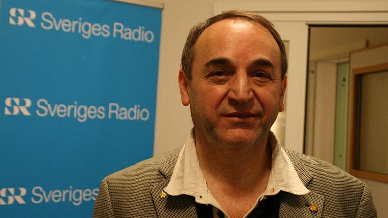 Asso Zand (MP). Foto: Magnus Hermansson/Sveriges Radio.