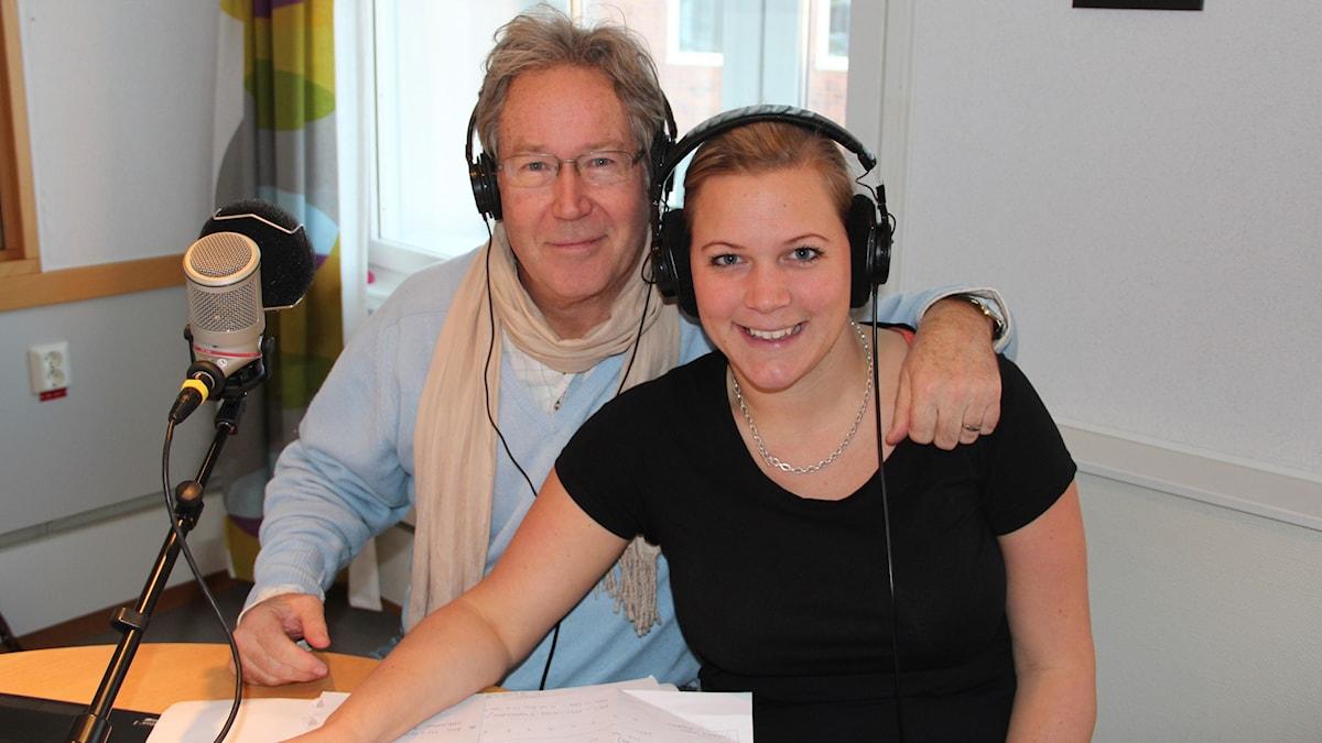 Mats Andersson och Rebecka Gyllin