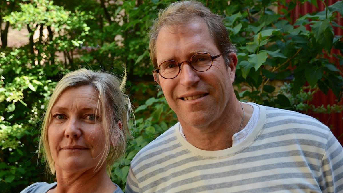 Agneta Nordin och Håkan Svensson.
