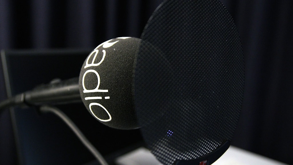 En mikrofon.