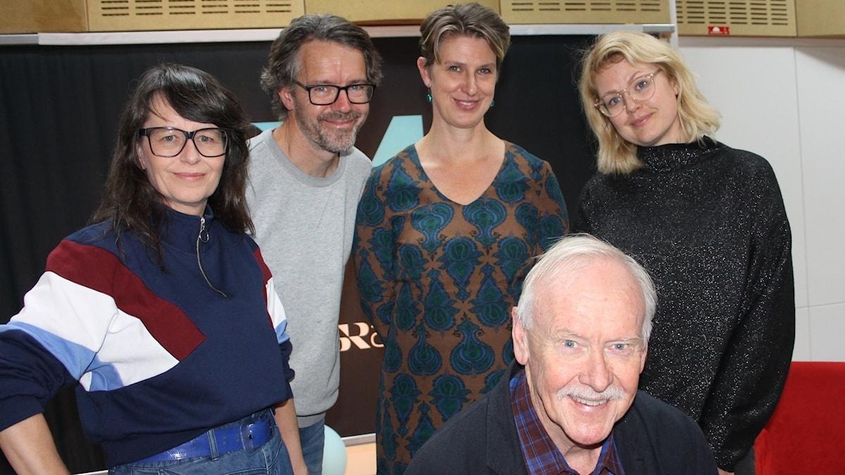 Anna Charlotta Gunnarson, Dan Hallemar, Sofia Nyblom, Miranda Sigander och Sven Hugo Persson.