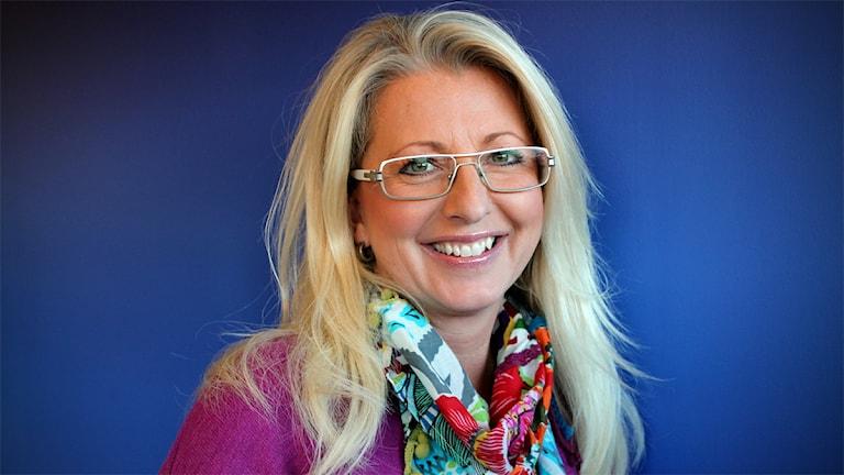 Helene Persson, programledare Förmiddag. Foto: Johanna Petersson/Sveriges Radio