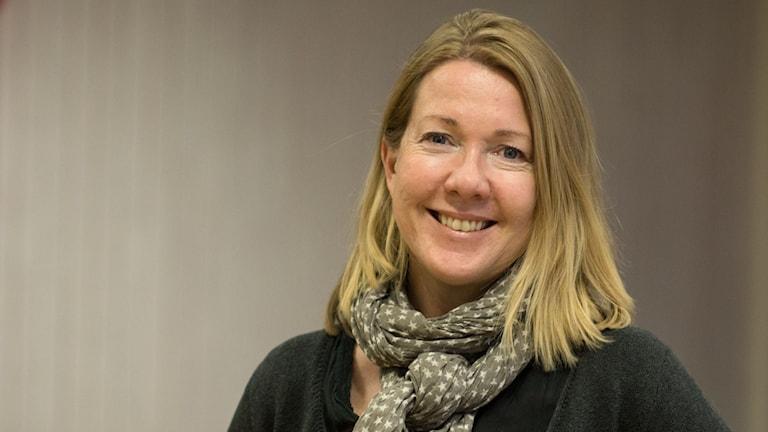 Nina Sköldqvist, arbetsledare, reporter