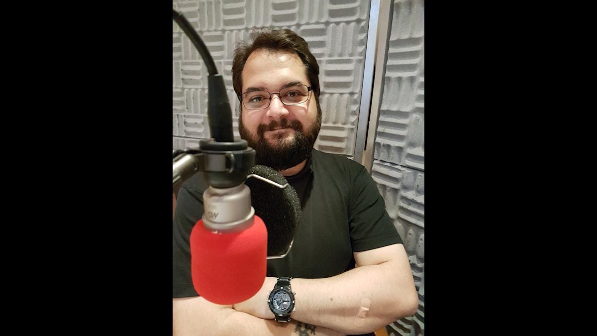 Miffos programledare Sebastian Pawlowski.