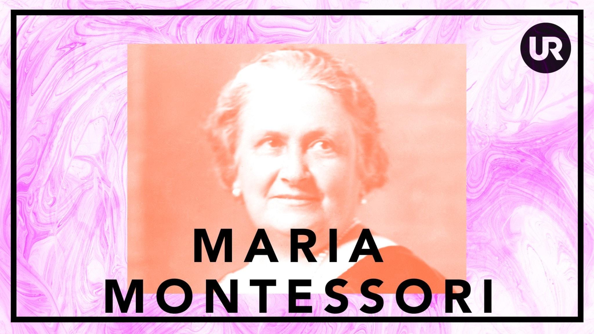 Bildningsbyrån - tänka mot strömmen: Maria Montessori- fred genom barnens befrielse