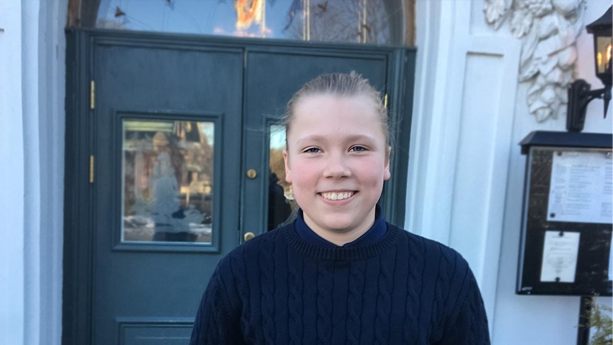 Barnhjälten Elias från Rejmyre i Södermanland