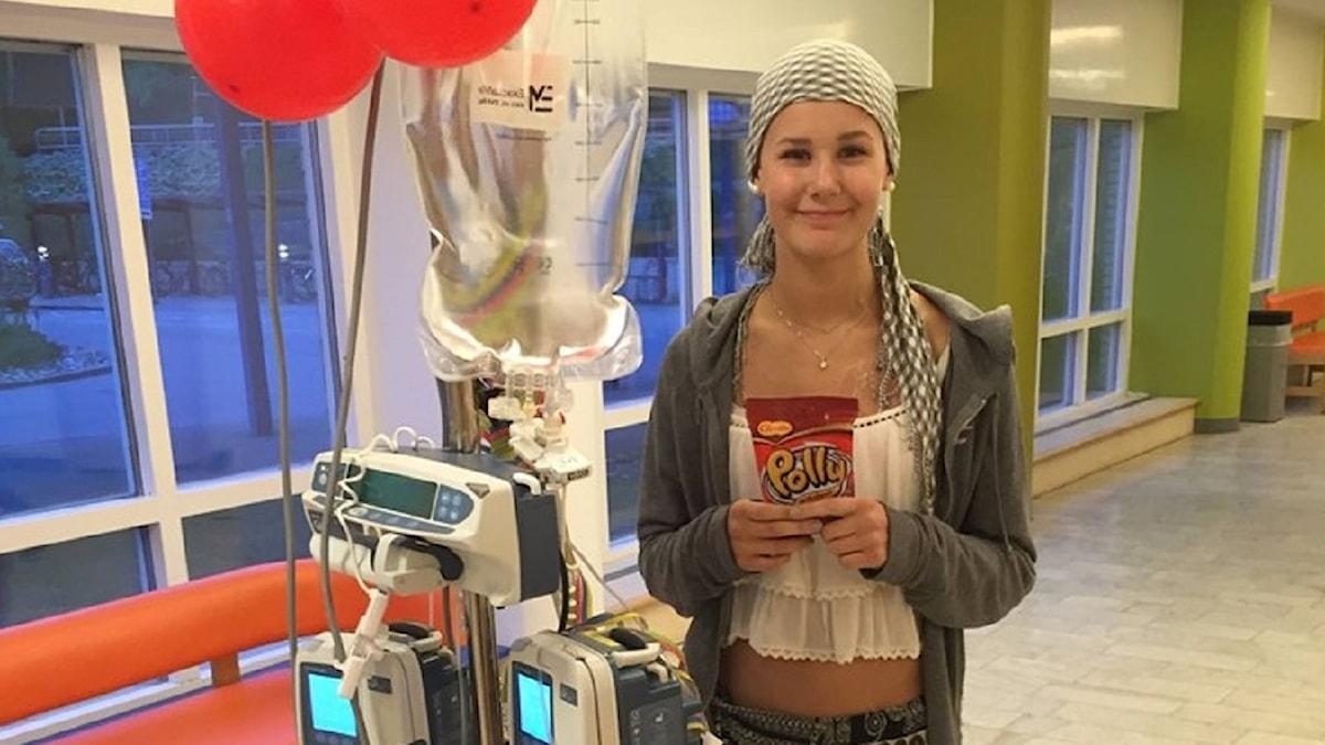 Saga bloggar om sin vardag sen hon fick sitt cancerbesked.