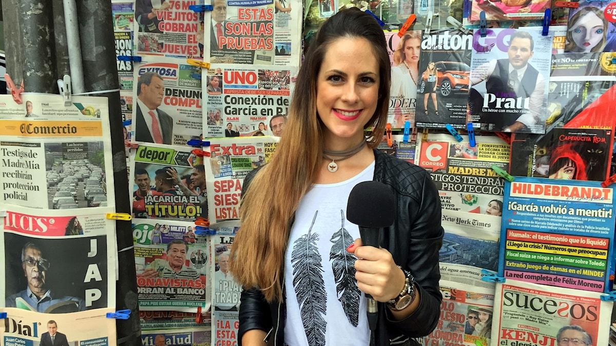 Nyheter från den spanskspråkiga världen på medelsvår spanska.