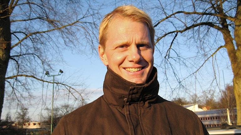 Niklas Wikegård. Foto: Rebecka Gyllin/Sveriges Radio.