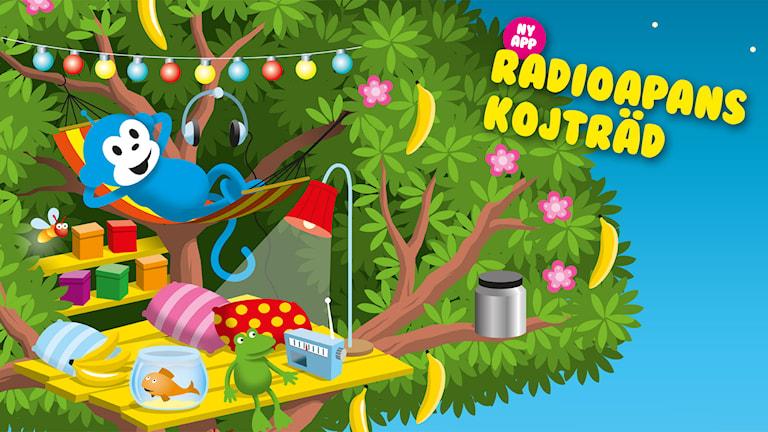 Radioapans kojträd - ny app!