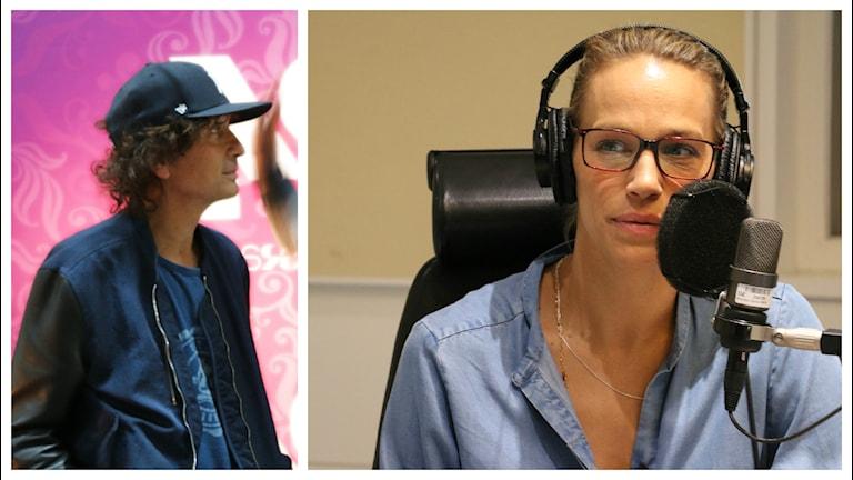 Emma Wiklund är orolig för Magnus Ugglas hälsotillstånd. Foto: Ronnie Ritterland / Sveriges Radio