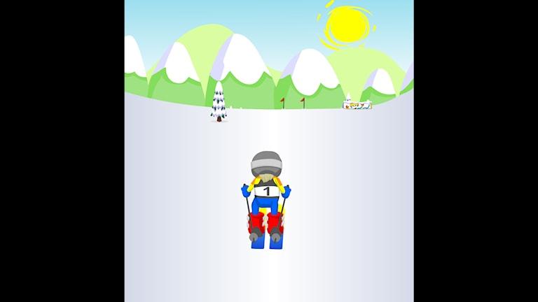 Spela Slalomspelet!