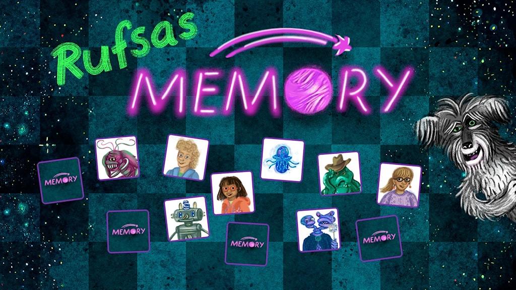 Rufsas Memory. Illustrationer: Annan Sandler