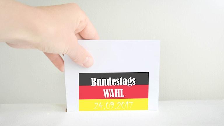 Förbundsdagsvalet ägde rum i Tyskland 24 september 2017