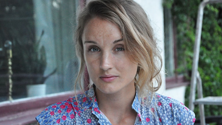 Amanda B Waldenström frilansjournalist och filosofistudent FOTO: Privat