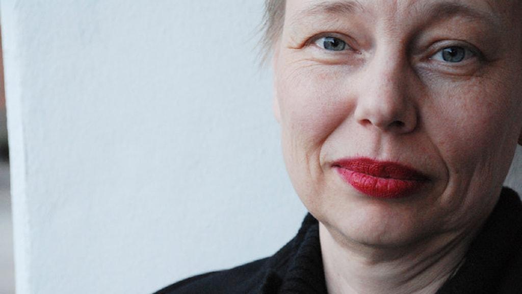 Charlotte Wiberg, frilansskribent och filmvetare FOTO: Jenny Nirfalk