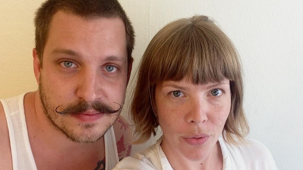 Robert Jacobsson och Maria Dietrichson rapporterar från The Conference i Malmö FOTO: Selfie, Maria Dietrichson/SR