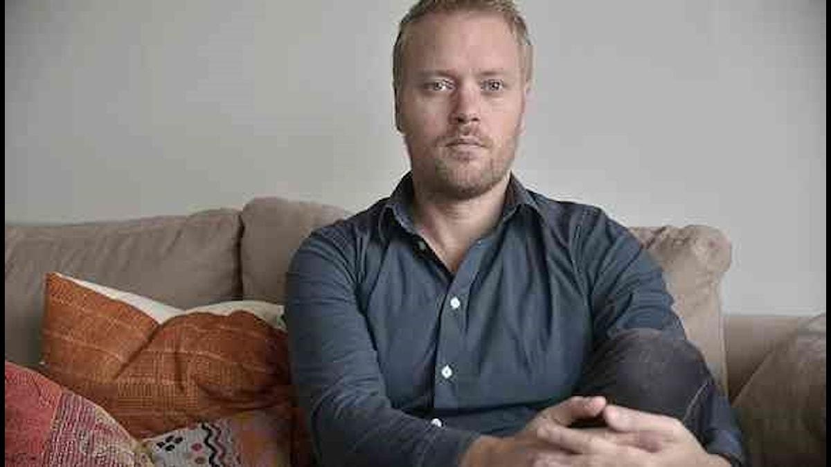Fredrik Svärd, IT- och mediejurist och medie- och kommunikationsvetare FOTO: Emilie Flaberg