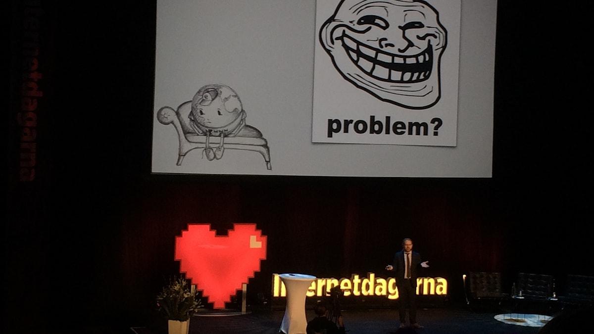 Chris Heilmann var en av keynotetalarna på Internetdagarna 2016