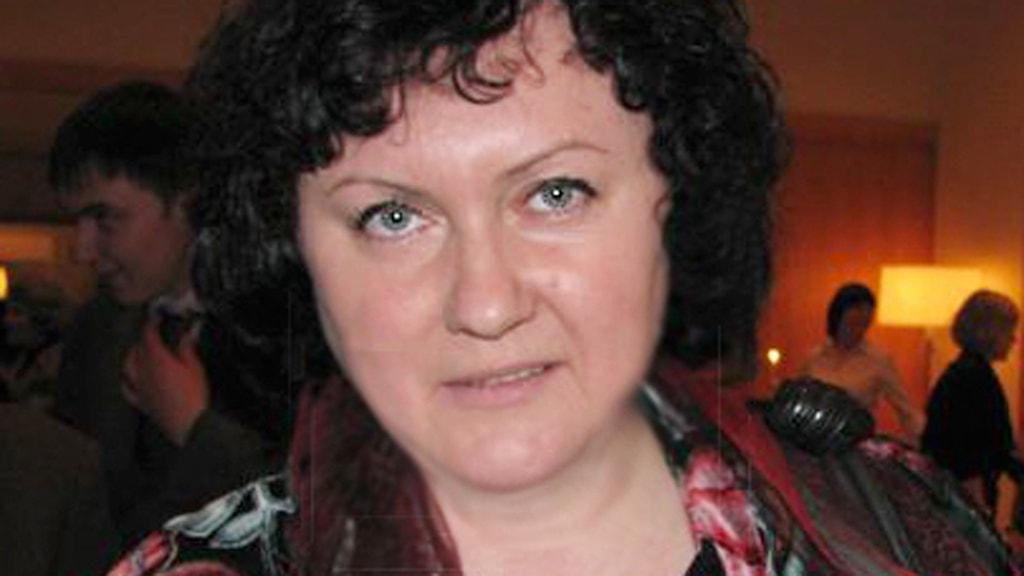 Nadezda Azhgikhina, journalist och sekreterare i Ryska journalistförbundet samt vice ordförande i Europeiska journalistfederationen, EFJ