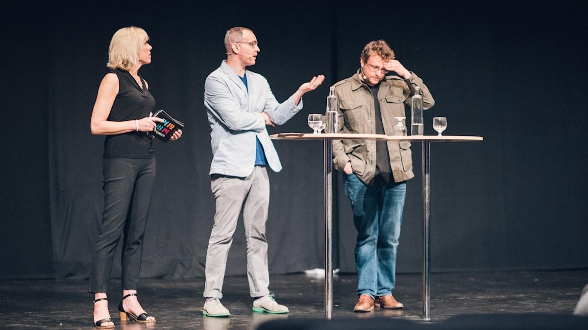 Ginna Lindberg, Craig Silverman and Peter Pomerantsev