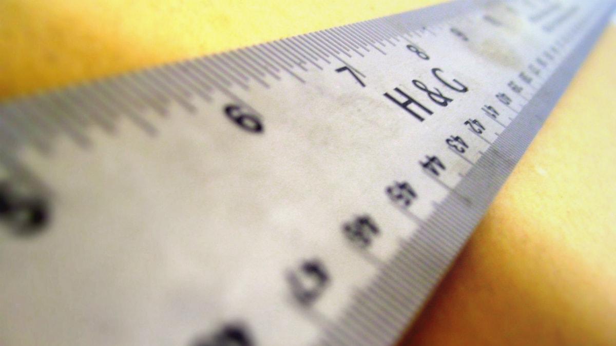 En linjal att mäta med...? Foto: Chandra Marsano/FlickR/CC BY-NC-SA 2.0