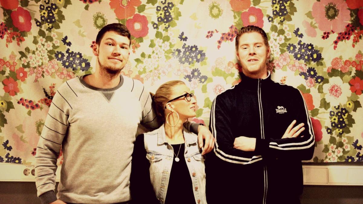 SAMTALET med Andre Ida och Carl Foto: Nina Kruse /Sveriges Radio