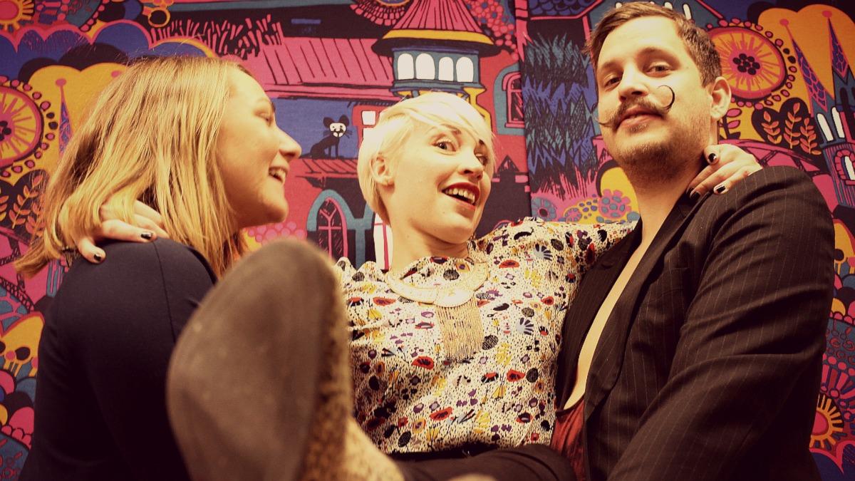 Nina, Hanna och Roberts sista program tillsammans Foto: Sveriges Radio