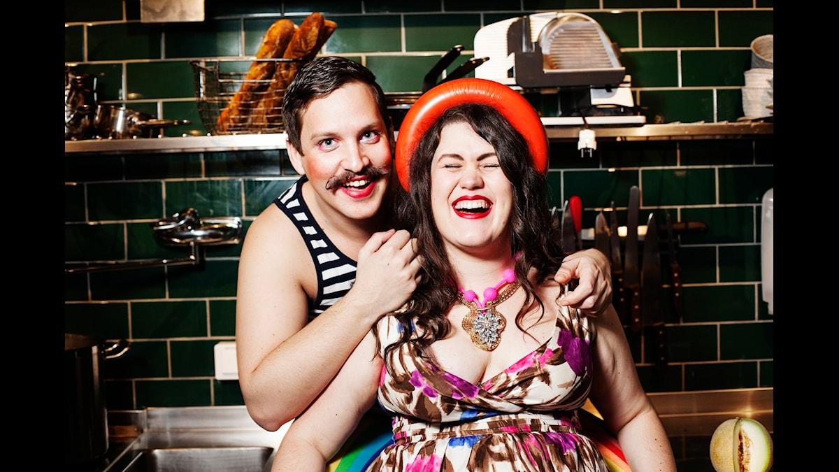Robert och Maria tipsar! Foto: Julia Lindemalm/Sveriges Radio