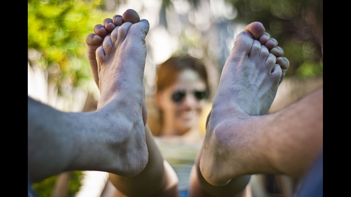 Carina gillar sina fötter. Foto: madanelu/flickr/CC BY-NC-ND 2.0