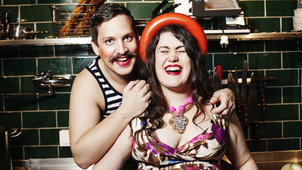 Maria och Robert. Foto: Julia Lindemalm/SR