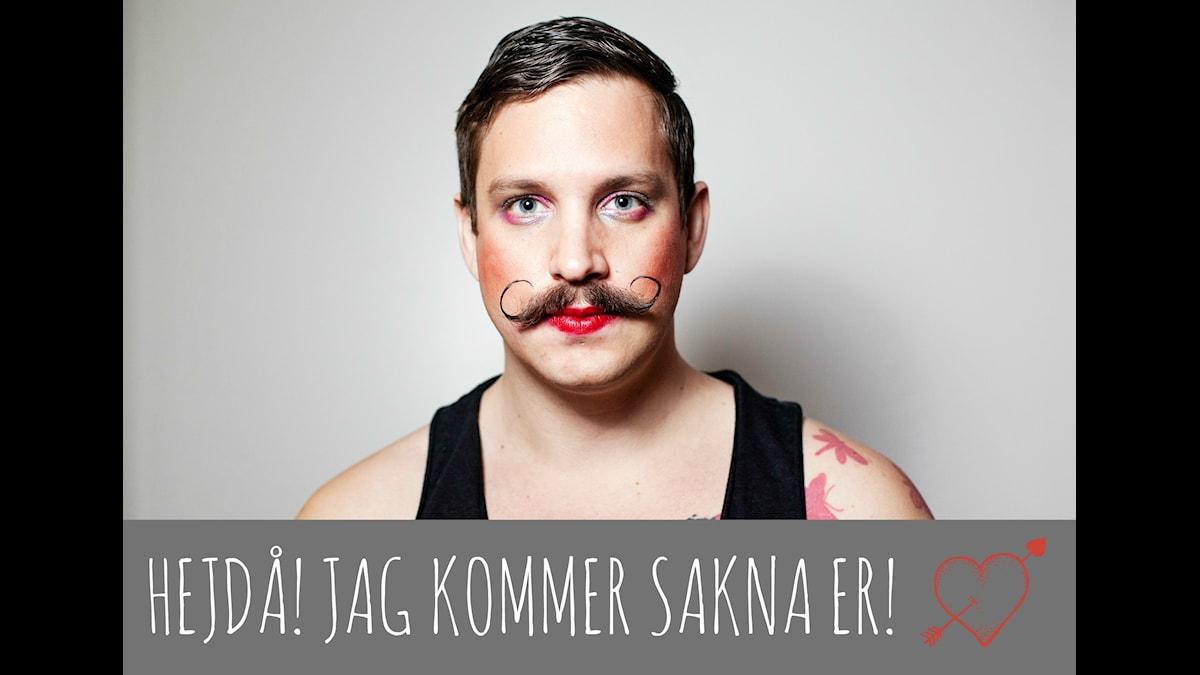Sexologen Robert säger hejdå. Foto: Julia Lindemalm/Sveriges Radio