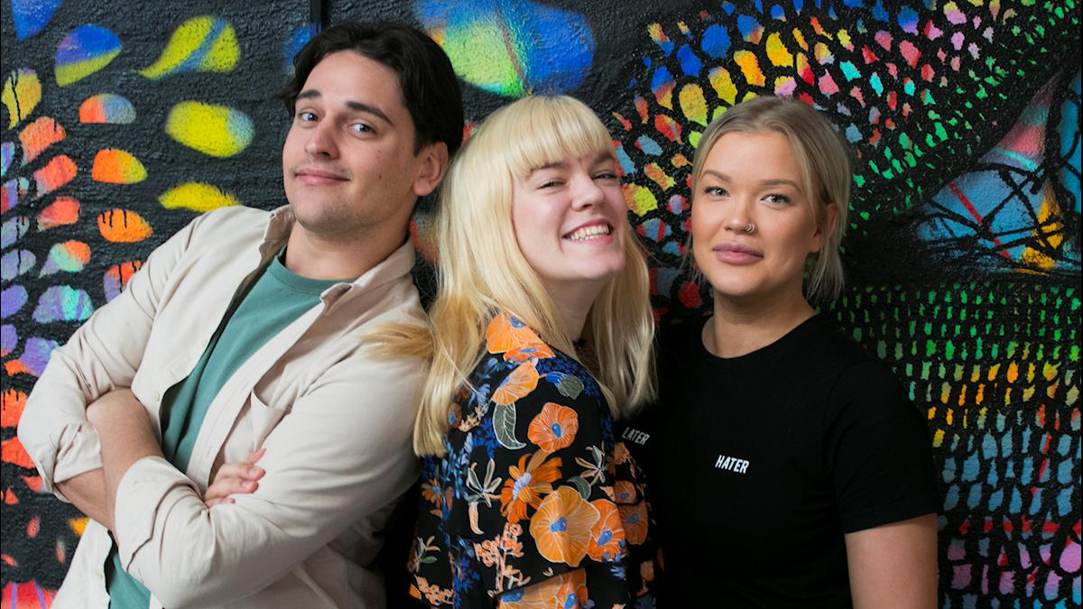Albin, Filippa & Isabelle