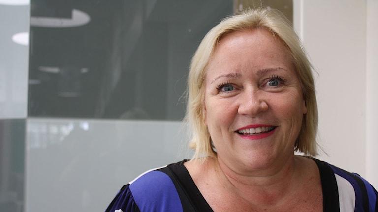 Elisabeth Dahlin, Rädda barnen. Foto: Emma Hallenberg / Sveriges Radio