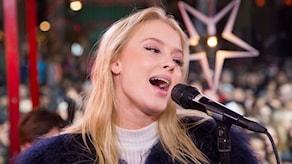 Zara Larsson i Musikhjälpen 2015. Foto: Martina Holmberg/Sveriges Radio