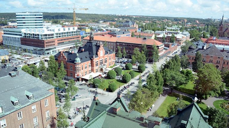 Rådhustorget i Umeå