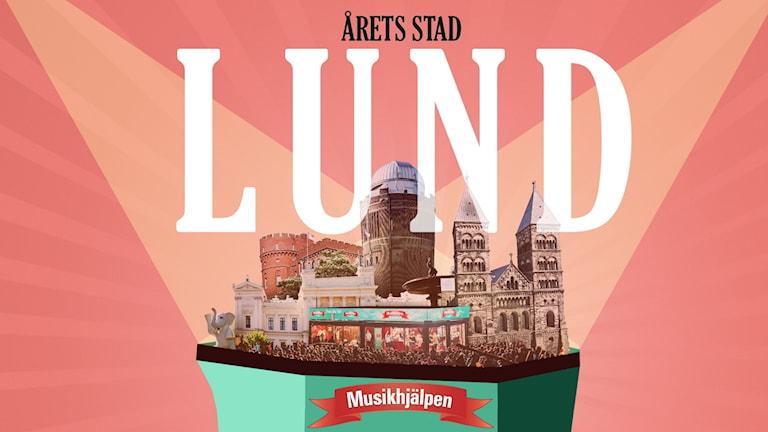 Musikhjälpen 2018 går i Lund