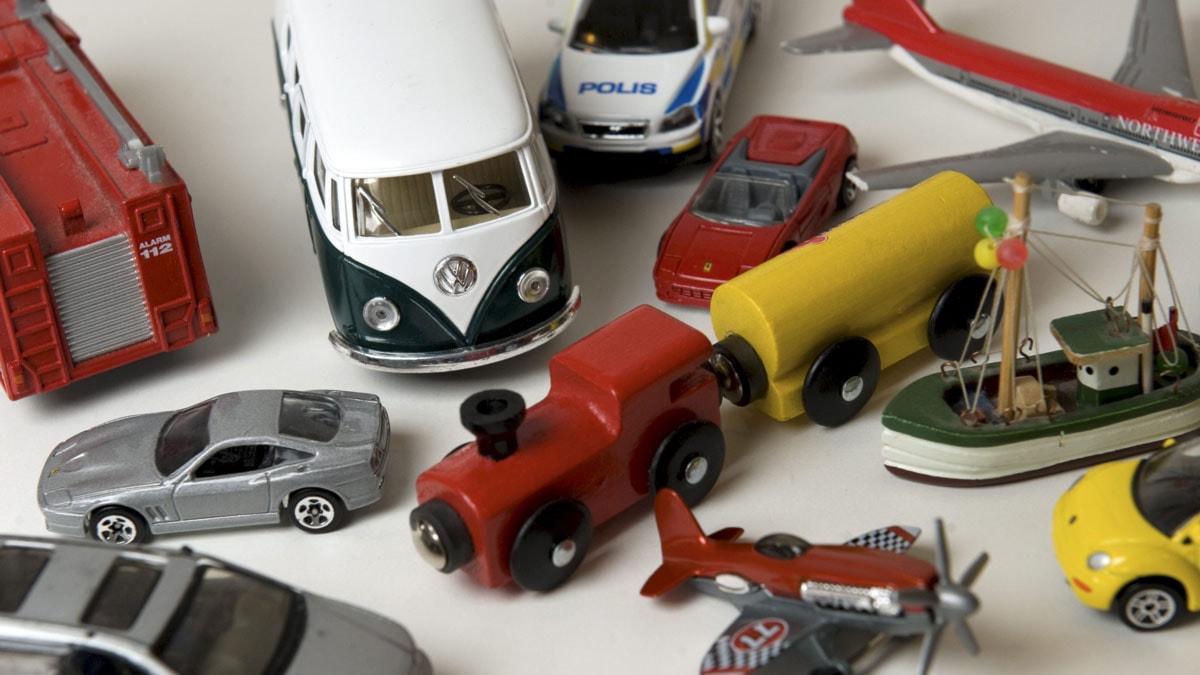 En massa leksaker.