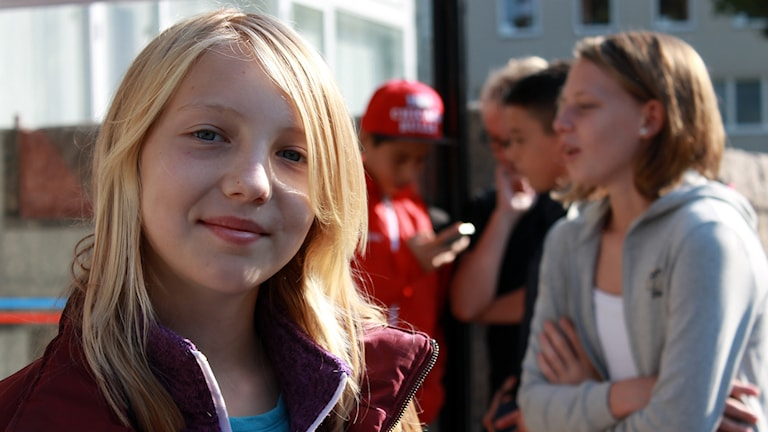 Minna Tennivaara. Foto: Kim Ohlsson/Sveriges Radio