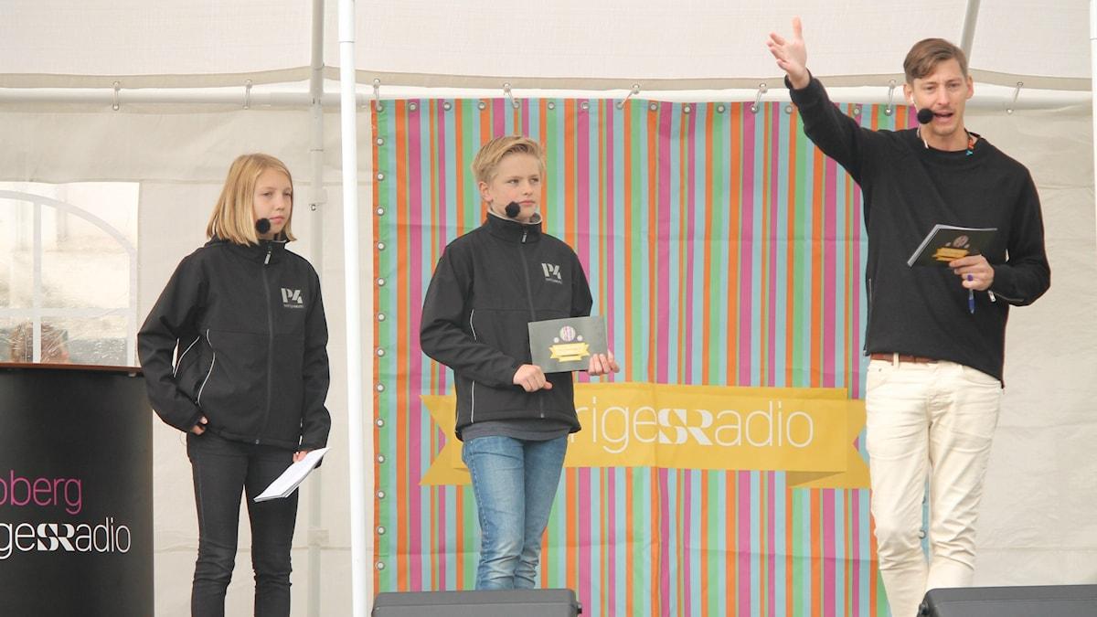 Minna, Albin och Kim